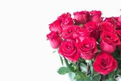 Le beau bouquet de roses rouges Image libre de droits