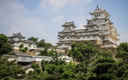 Le beau château de Himeji, Himeji, préfecture de Hyogo, Japon image stock