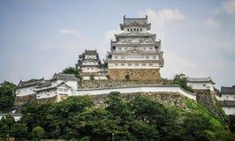 Le beau château de Himeji, Himeji, préfecture de Hyogo, Japon images stock