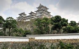 Le beau château de Himeji, Himeji, préfecture de Hyogo, Japon photos stock