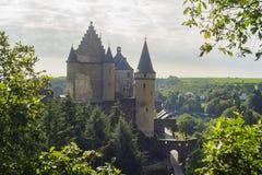 Le beau château de Vianden photographie stock