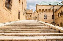 Le beau et célèbre château Bojnice en Slovaquie Photos stock
