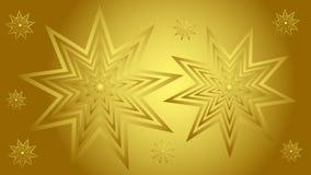 Le beau fond d'or avec de l'or se tient le premier rôle pour des couvertures de bannières de sites Web, invitations Photographie stock