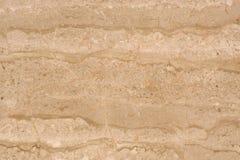 Le beau fond du beige de marbre en pierre naturel, a appelé Travertino Alabastrino photographie stock