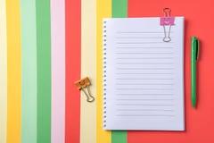 Le beau fond pour des affaires et l'étude du papier de diffèrent Image stock