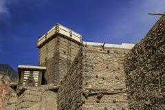 Le beau fort d'altit au hunza gigaoctet Images stock