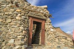 Le beau fort d'altit au hunza gigaoctet Image libre de droits