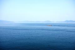 Le beau lac Image libre de droits