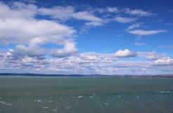 Le beau Lac Balaton photos libres de droits