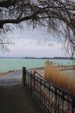 Le beau Lac Balaton image libre de droits