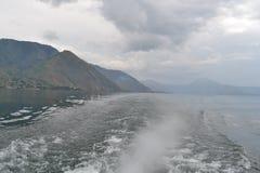 Le beau lac Indonésie toba Photographie stock