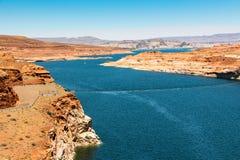 Le beau lac Powell Images libres de droits