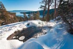 Le beau lac Tahoe la Californie photo libre de droits