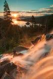 Le beau lac Tahoe la Californie images libres de droits
