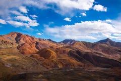 Le beau paysage : Déplacement au Thibet photographie stock