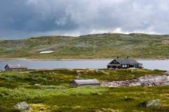 Le beau paysage de la Norvège à l'été Image stock