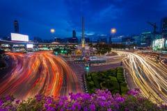 Le beau paysage du monument de victoire Photos libres de droits