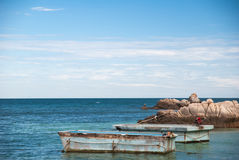 Le beau paysage marin Images libres de droits