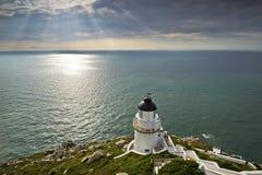 Le beau phare à Taïwan images stock