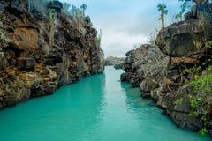 Le beau point de repère Las Grietas est un géologique Images libres de droits