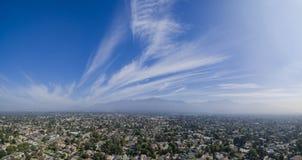 Le beau San Gabriel Mountains, Los Angeles, U S a Images stock