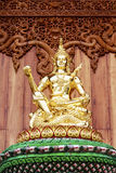 Le beau temple chez Wat Banden Images libres de droits