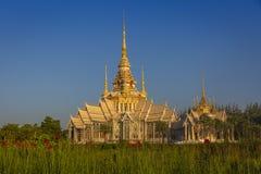 Le beau temple chez Wat Luang Phor Tor dans Korat, province de Nakhonratchasima image libre de droits