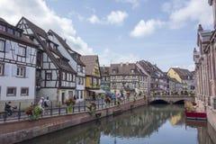Le beau village de Colmar Photographie stock