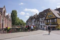 Le beau village de Colmar Photo libre de droits