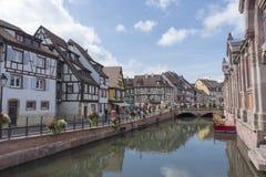 Le beau village de Colmar Photos libres de droits