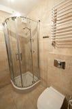 Salle de bains beige Images libres de droits