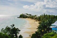 Le bel Antigua dans les Caraïbe Photographie stock libre de droits