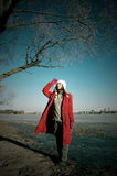 le bel hiver Image libre de droits