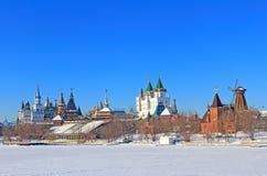 Le bel horizontal de Moscou. Photos libres de droits
