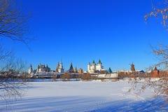 Le bel horizontal de Moscou. Images libres de droits