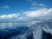 Le bel océan Image stock