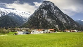 Le belle alpi sceniche dell'Europa Fotografia Stock
