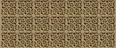 Le belle pareti stuccoed di Segovia, Spagna - INSEGNA 3a Immagine Stock Libera da Diritti