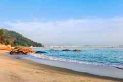 Le belle spiagge di Nanaodao fotografia stock
