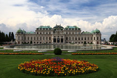 Le belvédère à Vienne photographie stock