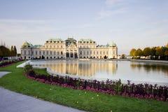 Le belvédère complexe de palais à Vienne, Autriche Photo stock