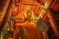 Le benedizioni di grande Buddha Fotografia Stock