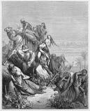 Le Benjaminites prennent les vierges