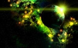 Le berceau de jeunes étoiles illustration libre de droits