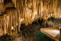 Le Bermude Crystal Cave Fotografia Stock