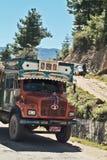 Le Bhutan, Haa, Image stock
