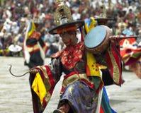 Le Bhutan - le Paro Tsechu photo stock