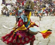 Le Bhutan - le Paro Tsechu images libres de droits