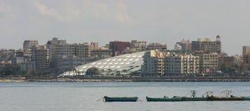 Bibliothèque de l'Alexandrie Photographie stock