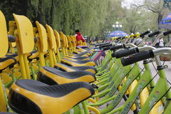 Le biciclette Immagini Stock Libere da Diritti